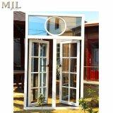 Europäisches Art-Flügelfenster-Glasfenster mit gewölbter Oberseite und Gitter