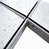 Chute de la fibre de laine minérale acoustique les carreaux de plafond matériaux décoratifs