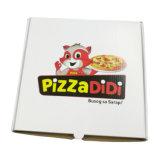 Цветная печать с логотипом доставка пицци в поле дизайн