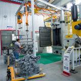 Производители машины горячие продажи новой конструкции Подвесных Автоматических дробеструйная очистка машины для обработки поверхности электронной промышленности с Siemens Plc