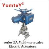 Assurance de la qualité de l'actionneur de soupape Za série soupape Multi-Turn actionneur électrique