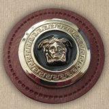 小さい金属のロゴのカスタム本革のバッジ