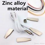 Il micro USB del metallo in lega di zinco lega il caricatore con un cavo veloce 2.1A di 1m 3FT