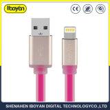 2 FT del lampo di dati del USB che caricano il cavo del telefono mobile