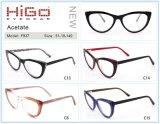 Kant Nieuwe 51-19-140 van de Bes van de Frames van het Oogglas van de Acetaat van de Rand van Eyewear van Higo F937 Volledig