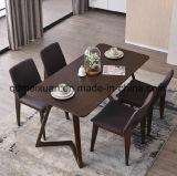 Твердый деревянный обеденный стол в гостиной мебели (M-X2873)