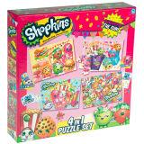 Heet Stuk speelgoed 4 van de Jonge geitjes van de Verkoop in 1 Reeks van de Puzzel