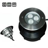 indicatore luminoso subacqueo della piscina di 9W IP68 LED