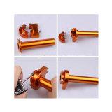 Mini controllo Pocket di CNC Aluminumthrottle della bici per cavo 47 49cc