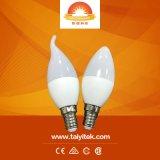 Vorm van de hete E14 E27 B22 LEIDENE Van uitstekende kwaliteit van de Verkoop LEIDENE van de Verlichting 3W 5W 7W de Bol van de LEIDENE Kaars