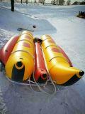 De Opblaasbare Boot van de Banaan van de dubbel-rij voor het Spel van het Water