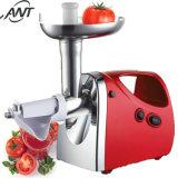 Rojo 800W comercial multifuncional de la picadora de carne