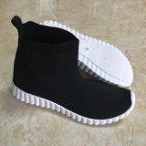Nueva llegada Popular alto tobillo bota mujer zapatos casual
