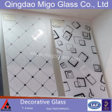 Effacer/acide décoratifs en verre gravé de couleur / art du verre dépoli