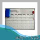 Planificateur de tableau blanc de l'aimant sec mensuel Effacer Fridge Magnet conseil hebdomadaire