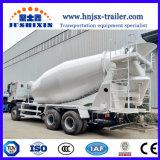 Shannxiのトラックシャーシが付いているFoton/HOWO 8m3の具体的なミキサーのトラック