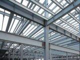 Chorreado de arena SA2.5 edificio de la estructura de acero