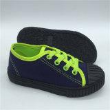 La parte superior del lienzo de Venta caliente zapatos de niños Zapatos de seguridad para niños