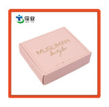 Caja de papel de cosméticos con lámina de oro