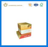 Косметическом салоне бумаги с верхней и нижней крышки лотка