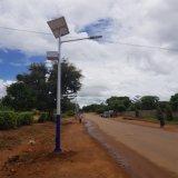 Los precios de 18W de iluminación solar calle polo con 4m