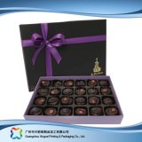 Valentinsgruß-Geschenk/Schmucksache-/Süßigkeit-/Schokoladen-verpackenkasten mit Farbband (XC-fbc-005)