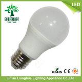 A55 Inmetro bombilla LED 5W de luz de lámpara de aluminio de plástico