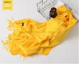 Cashmere Pashmina sólido de lã de moda inverno quente suave Cachecol cachecóis mulheres pendão