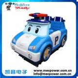 Jeux d'intérieur kiddie ride Poli Machine de jeu de voiture