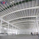 Estructura de acero prefabricada Fábrica de la Granja establo de almacenamiento de las aves de corral galpón Gallinero taller/edificio de acero
