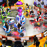 Suministro de la fábrica China loca Danza Venta online de venta/mejor fábrica de China Crazy Dance atracciones para la venta