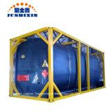 20pieds/40FT/hauteur de stockage portable d'asphalte de transport de marchandises en vrac conteneur ISO de réservoir de bitume
