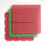 TPE resiliente exterior do intertravamento de badminton Tribunal Mosaico Pavimentos desportivos