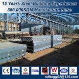 壁の絶縁体のイタリアの標準鉄骨フレームの倉庫の構築