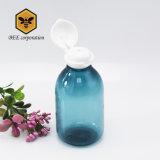 Produits de soins de peau Flip Cap bouteille en plastique PET flacon de lotion 200ml (BMJ-200)