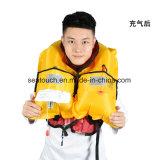 Custom 150n de CO2 de adultos Chaleco salvavidas inflables Ce aprobada Marine Chaleco salvavidas Chalecos salvavidas de inflado automático