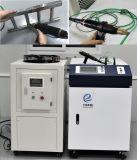 Acciaio tenuto in mano portatile del tubo della Cina della saldatrice del laser della fibra di 300W 500W