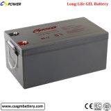 Аккумулятор 12V 250Ah VRLA гель солнечной батареи для хранения