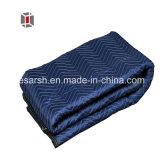 100% de poliéster cobertores para mover e embalagem