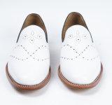 La moda de cuero auténtico nuevo estilo de hombre zapatos de la Oficina de Negocios
