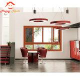 Nuevo diseño de ahorro de energía clásica de doble vidrio de ventana de aluminio/aluminio ventana
