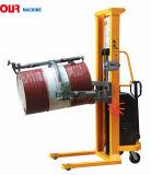 電気私達の機械によって位取り装備されている電気ドラムダンプはドラムPourers Yl520-1を縦持ち上げる