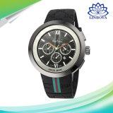 Vigilanza unisex famosa del regalo di compleanno dell'orologio del quarzo del silicone