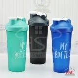 Bottiglia di acqua di sport - bottiglia dell'agitatore della proteina, prova 700ml/24oz Jq-D018 della perdita