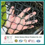 Гальванизированное плетение загородки звена цепи/провода диаманта/ячеистая сеть звена цепи