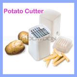 Pommes-Fritesscherblock-Kartoffelchip-Gemüseschneidmaschine-Küche-Hilfsmittel-Schaufel