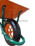 庭および構築のフランスのモデル手押し車Wb6400の一輪車