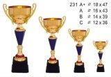 Trophée de métal, trophée, trophées, le métal des trophées, trophée de golf, CUP, le golf Awards