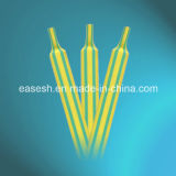 Tubes thermorétractables Green-Yellow/le manchon du fabricant chinois
