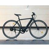Bici eléctrica con el tipo marco de la bicicleta